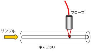 蛍光検出器フローサイト(細胞の計測器)