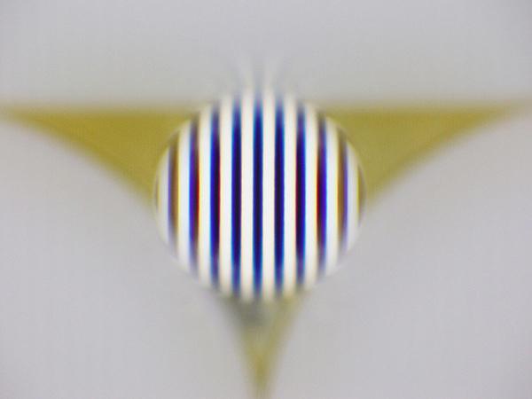 CLH050(φ0.5mm)の透過波面