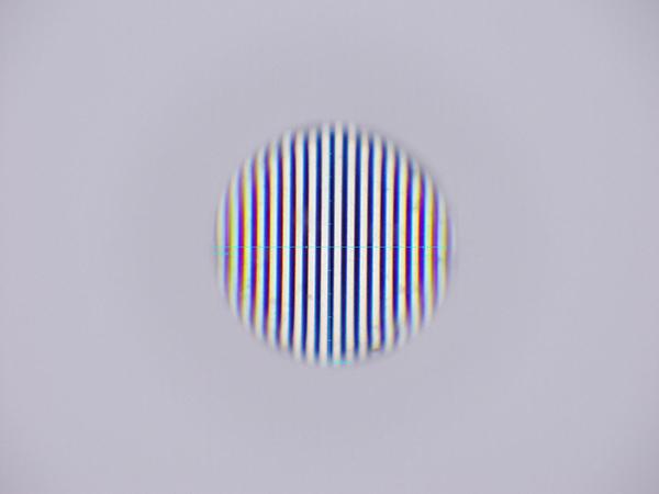 CLH100(φ1mm)の透過波面