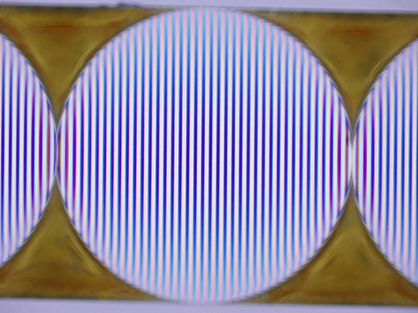 CLH200(φ2mm)の透過波面