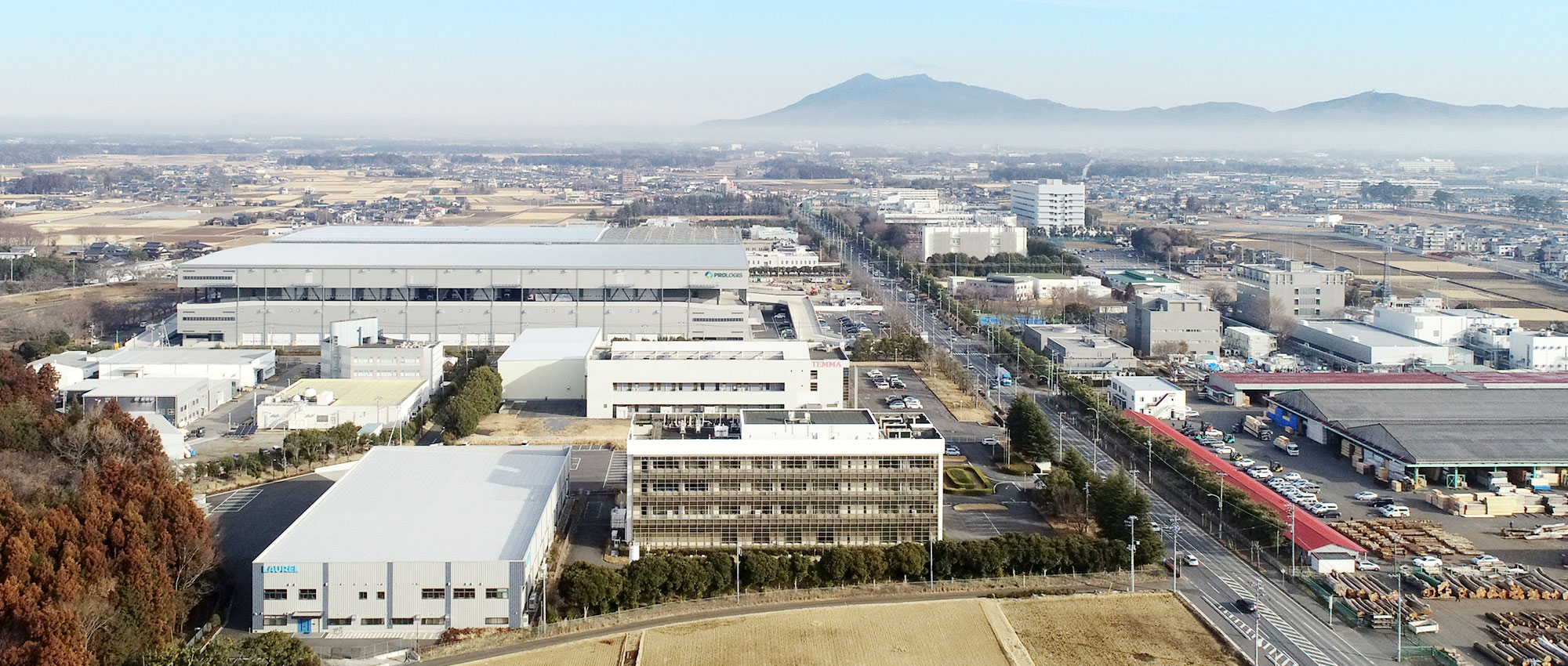 茨城県つくば市:株式会社ゴ―フォトンの空撮写真